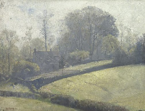 An image of Springtime in Sussex by Tom Roberts