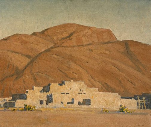An image of Taos by Fred Leist