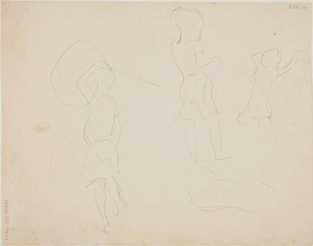 An image of (Studies of children) (London genre)