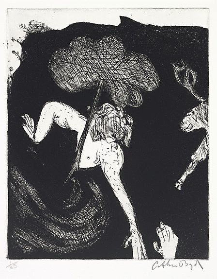 An image of Orpheus and Eurydice by Arthur Boyd