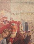 Alternate image of La croix de guerre (detail) by George W Lambert