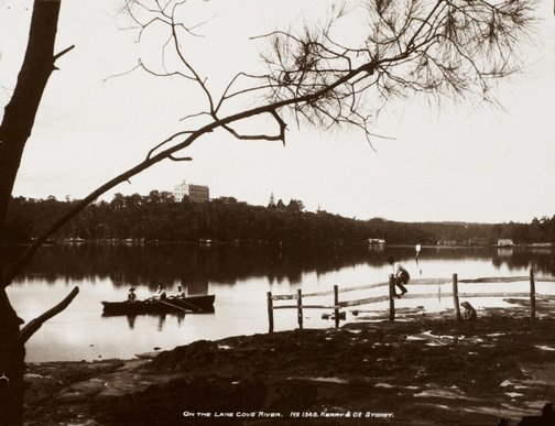An image of On the Lane Cove River by Unknown, Kerry & Co