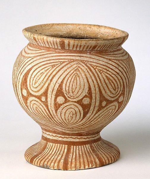 An image of Pedestal bowl by Ban Chiang ware