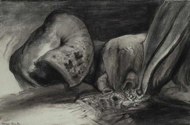 An image of Sketch for 'La costa metamorphica'