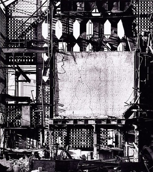 An image of Oyster Cove gas works, Sydney by David Moore