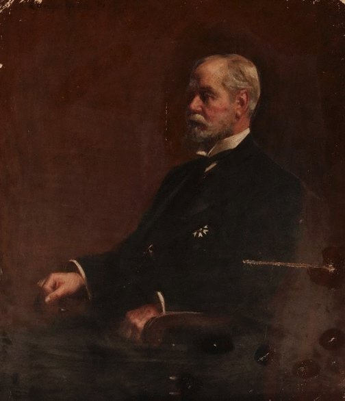 An image of Portrait of the late E W Fosbery by John Longstaff