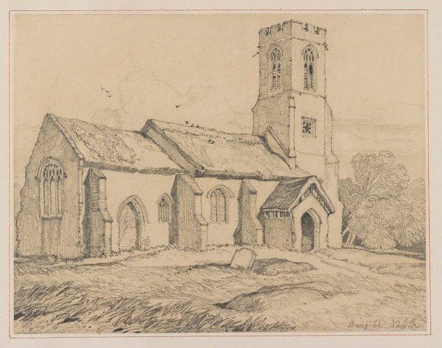 An image of Burgh Church, Norfolk