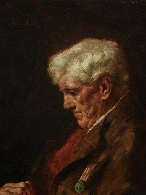Alternate image of A veteran (1857-1858) by Antonio Dattilo-Rubbo