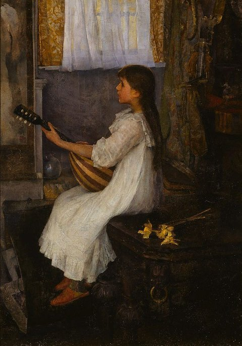 Mignon, (1890) by Elizabeth Stanthope Forbes