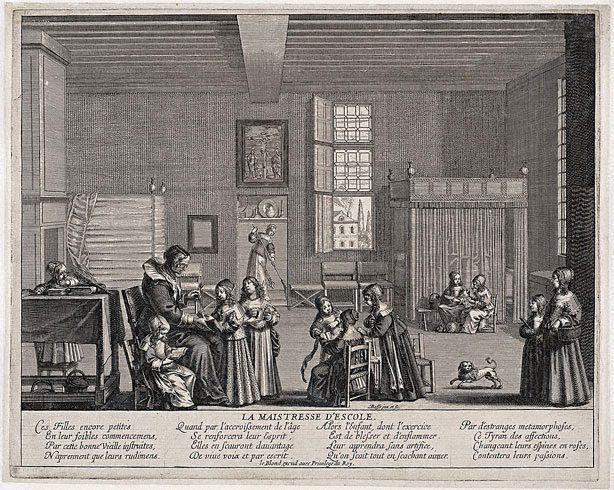 An image of The schoolmistress