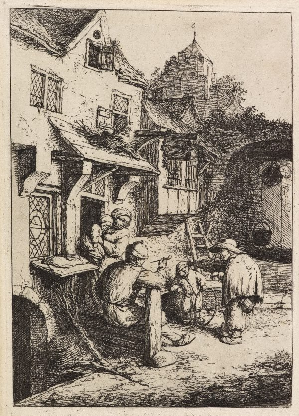 An image of The hunchbacked fiddler