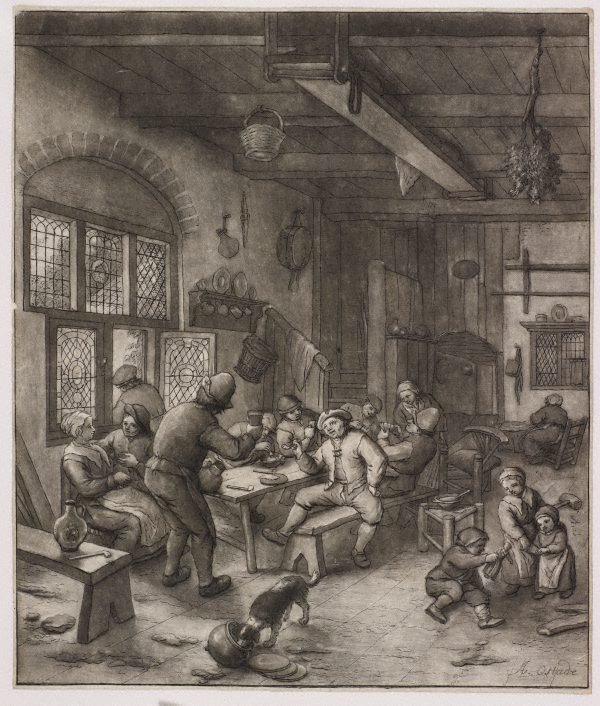 An image of A tavern scene