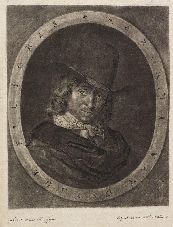 An image of Portrait of Adriaen van Ostade