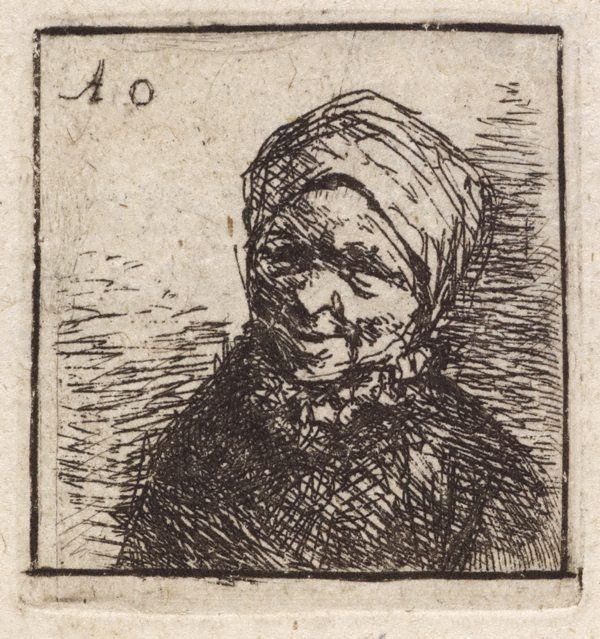 An image of Bust of a peasant
