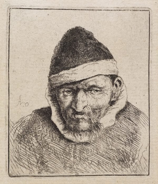 An image of Peasant in a pointed fur cap
