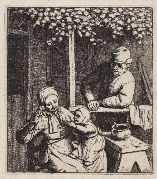 An image of The doll by Adriaen van Ostade