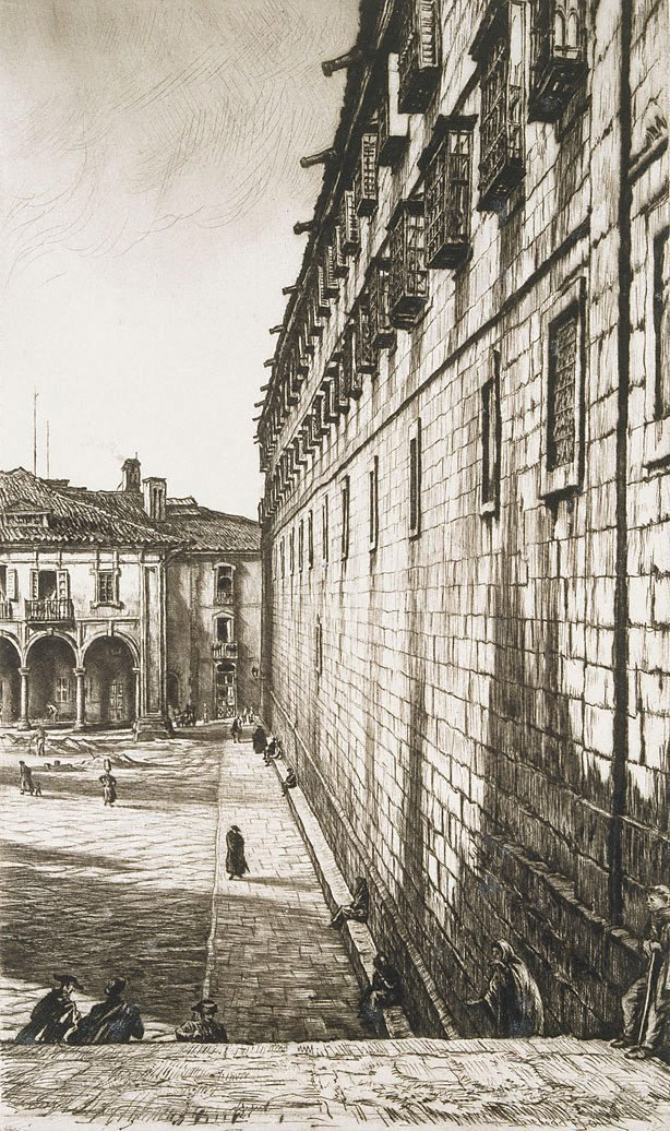 An image of The Convent of San Payo, Santiago de Compostela, Spain