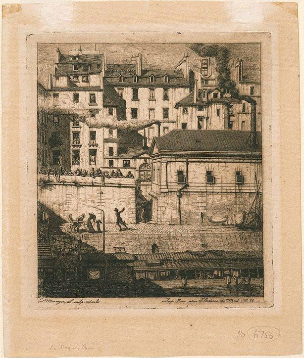 An image of The morgue, Paris