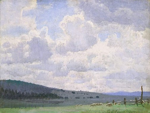 An image of New England by Elioth Gruner