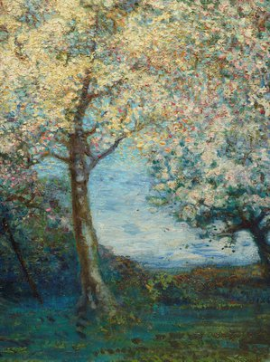 Alternate image of An apple orchard in Brittany by Charles Conder