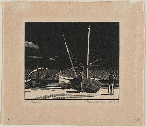 An image of Las Barcas by Frank Medworth