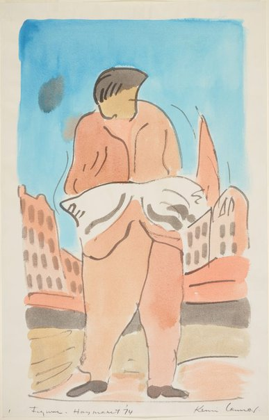 An image of Figure, Haymarket (with buildings in background) by Kevin Connor