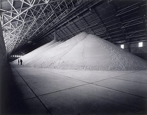 An image of Sugar pile in warehouse, Queensland