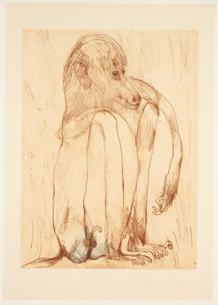 An image of Baboon by John Olsen