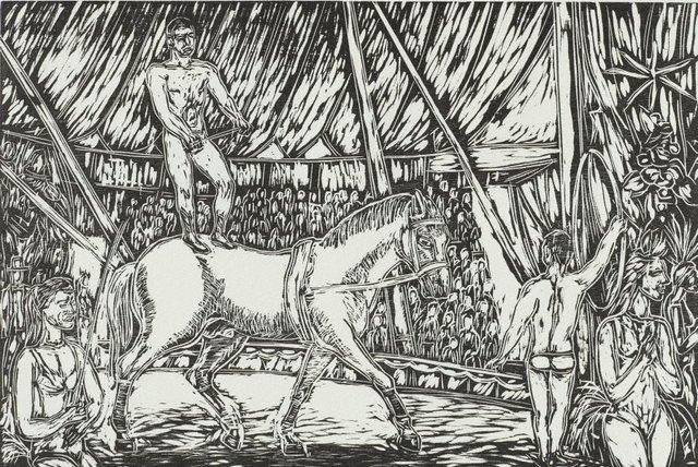 An image of The circus in Borgia