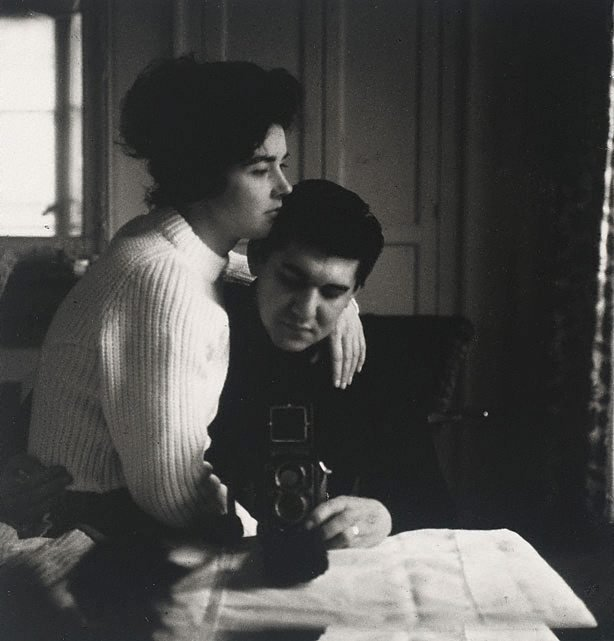 An image of Self-portrait in a mirror with Pat, Paris