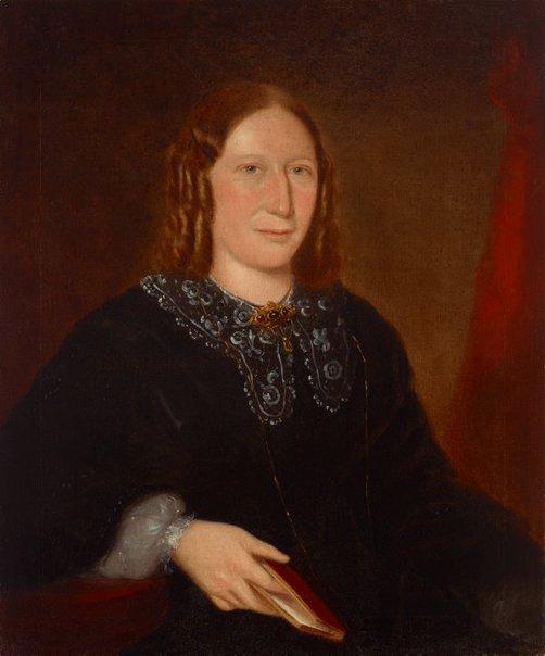 An image of Portrait of Elizabeth Wills (neé Porter) by Joseph Backler