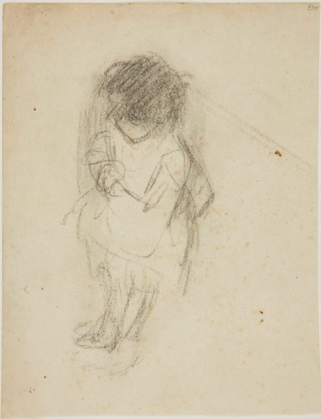 An image of (Figure of a little child) (London genre) by William Dobell
