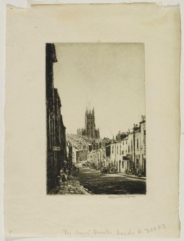 An image of The Jews' quarter, Leeds