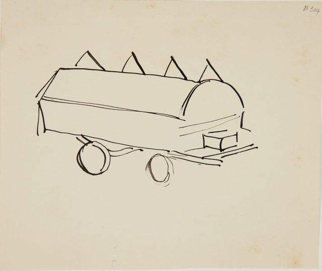 An image of (Cart) (London genre)
