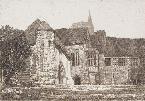 An image of Palace farm by Frederick Landseer Griggs