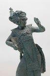 Alternate image of Study of Balinese Legong dancer by Arthur Fleischmann