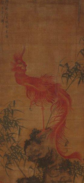 An image of The red phoenix by WANG Xu