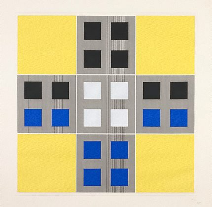An image of (Yellow, black, blue)
