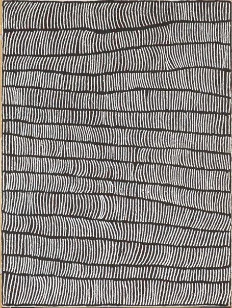 An image of (untitled) by Charlie Ward Tjakamarra, Yukultji Napangati