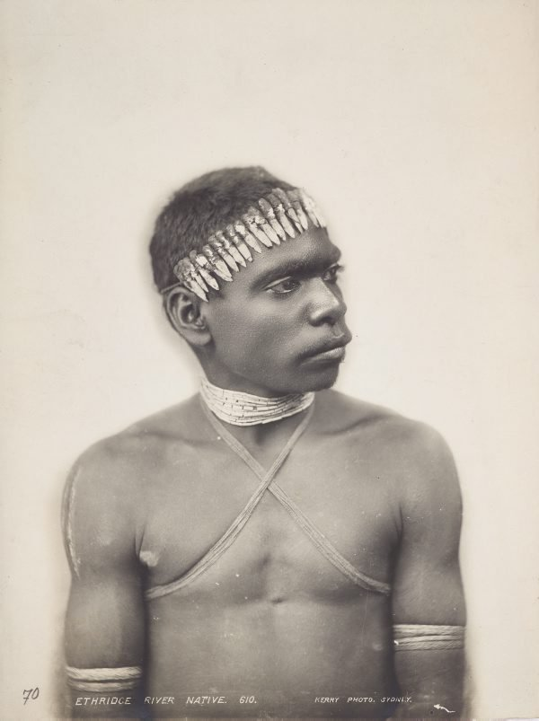 An image of Portrait of a man from Ethridge (sic) River, North Queensland