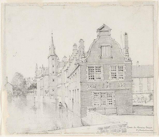 An image of Quay du Rosaire, Bruges