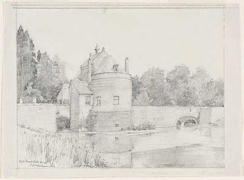 An image of Ponte Marechale, Bruges by Mr B.J. Waterhouse