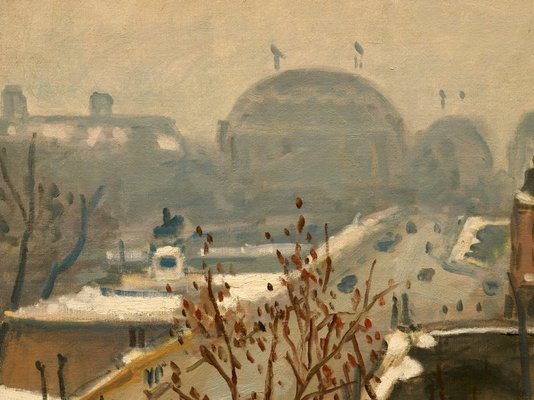 Alternate image of The Pont Neuf in the snow by Albert Marquet