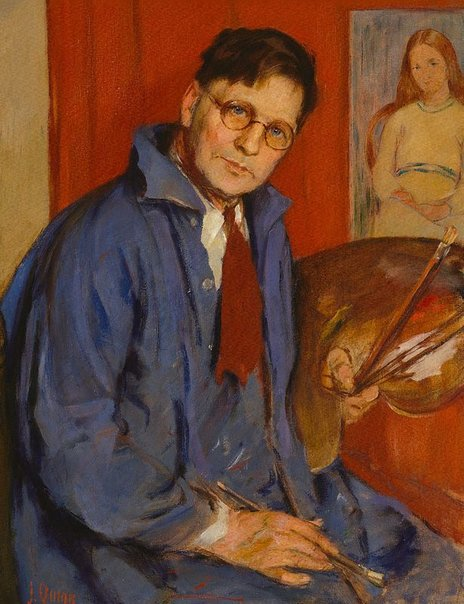 An image of George Bell (artist and critic) by James Quinn