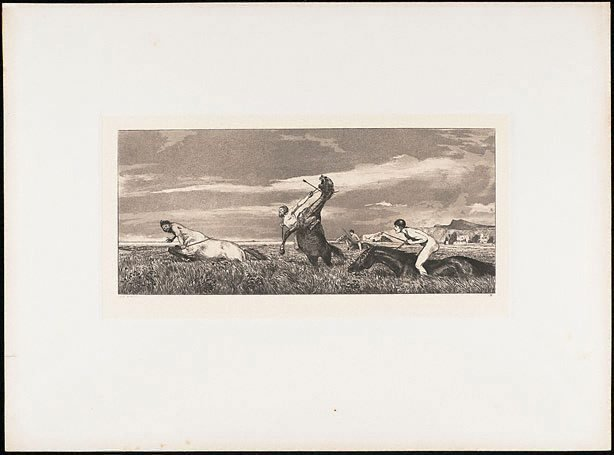 An image of Pursued centaur