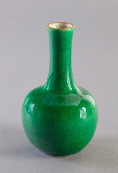 An image of Vase of bottle shape by