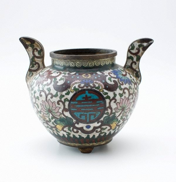An image of Censer decorated with lotus scroll