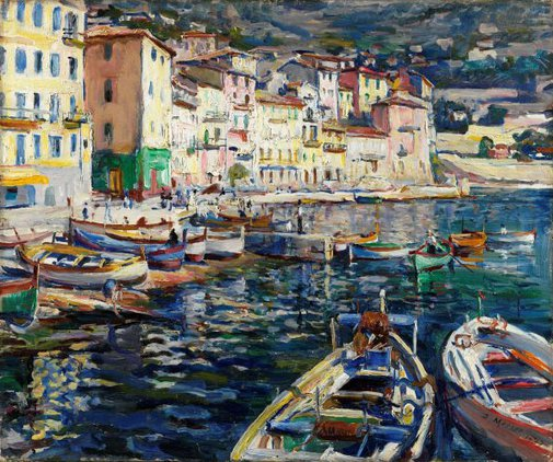 An image of Ville Franche-Sur-Mer by Dora Meeson