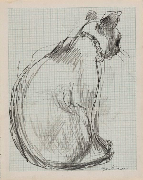 An image of Seated cat (Alannah Coleman's 'Shan')