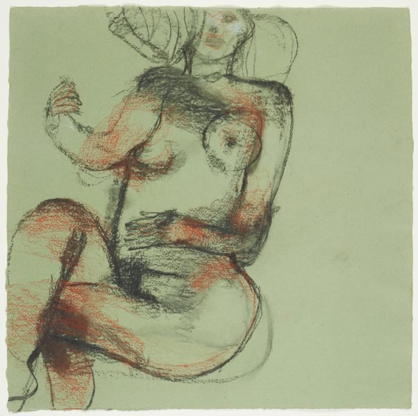 An image of Reclining female nude